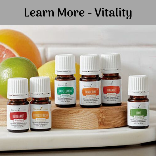 Vitality essential oils
